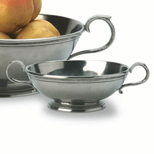 low footed bowl with handles small 1068.1 - Home & Gift