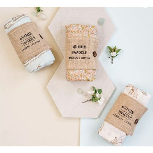 milkbarn swaddle - bitty boutique