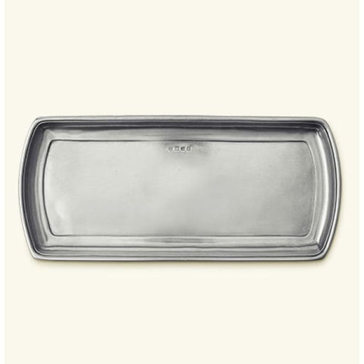 Narrow Tray Pewter 2027 - Home & Gift
