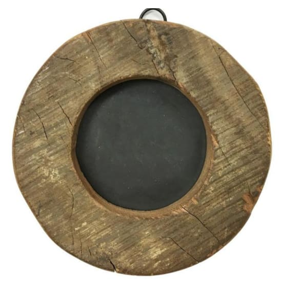 round wooden photo frame - Home & Gift