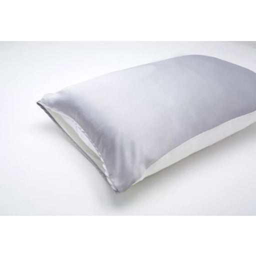 silked anti-aging open ended silk pillow - grey - Clothing & Accessories