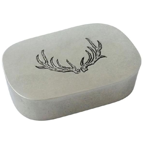 simple covered antler box 1288.5 - Home & Gift