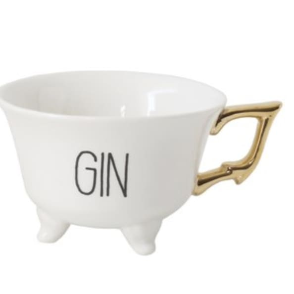 spirits tea cup - gin - Home & Gift