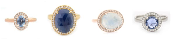 anne sportun trunk show lusso one of a kind rings