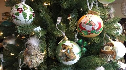 holiday decorations and ornaments 50% off at lusso