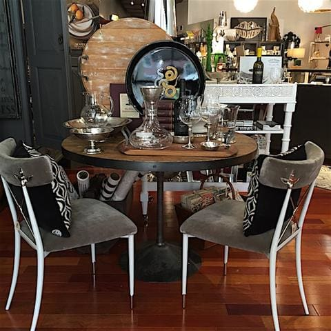 jonathan adler chairs at lusso in st louis
