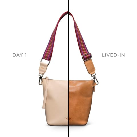 jet setter bag - diego natural