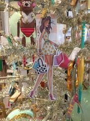 fashionista ornament