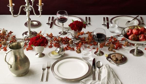 match pewter fall table