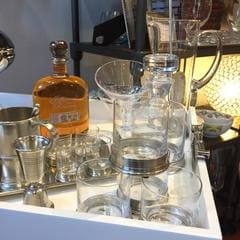 Match pewter barware glasses whiskey scotch