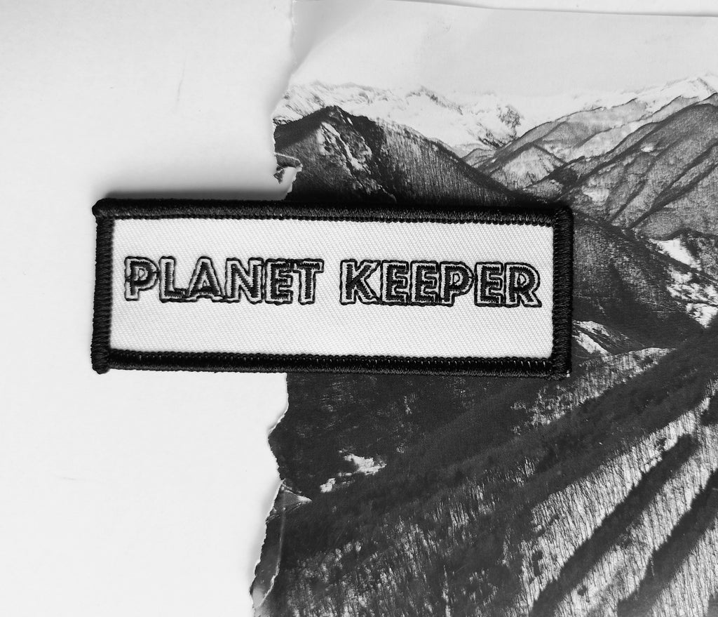 Planet Keeper Patch White