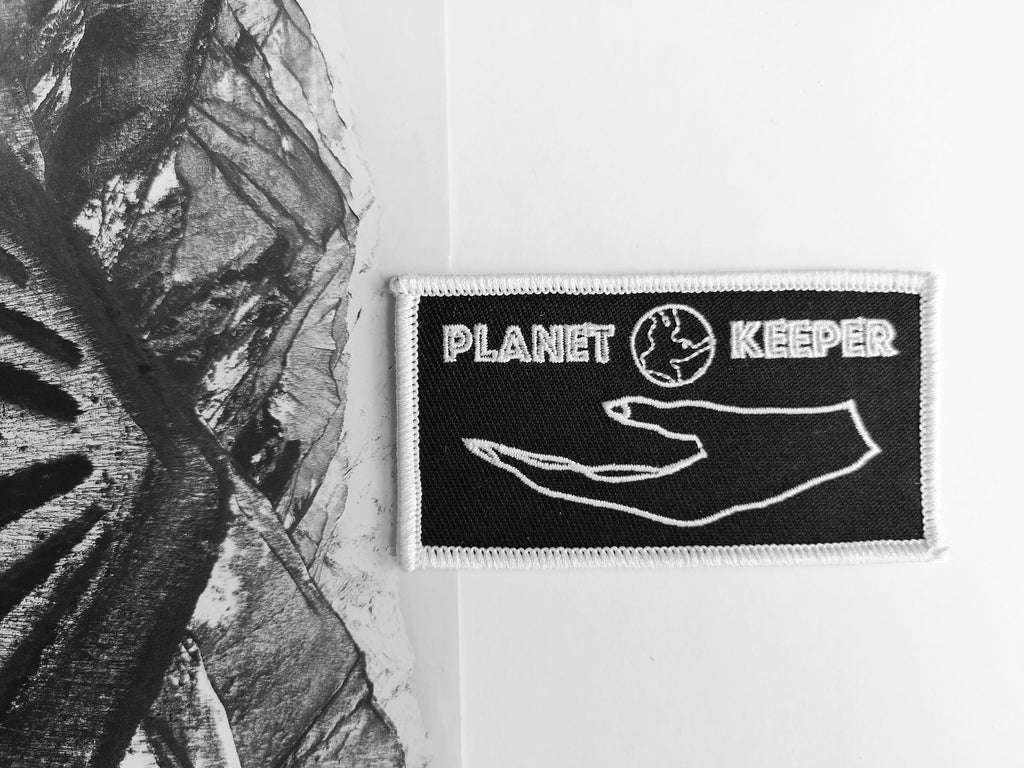 Planet Keeper Patch Black