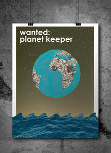 Statement Poster: Planet Keeper