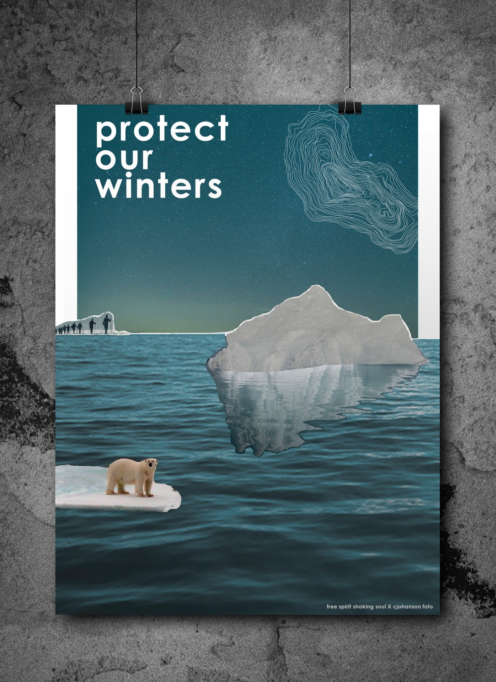 Statement poster: Protect our winter