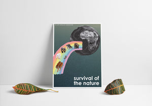 Statement Poster: Survival of the nature