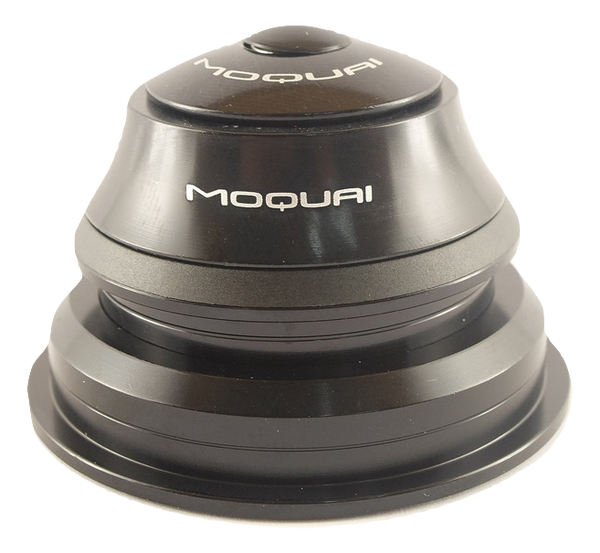 "MOQUAI Steuersatz tapered 1 1/8""-1 1/2"" semi integrated, 44/56mm, 15mm Cap"