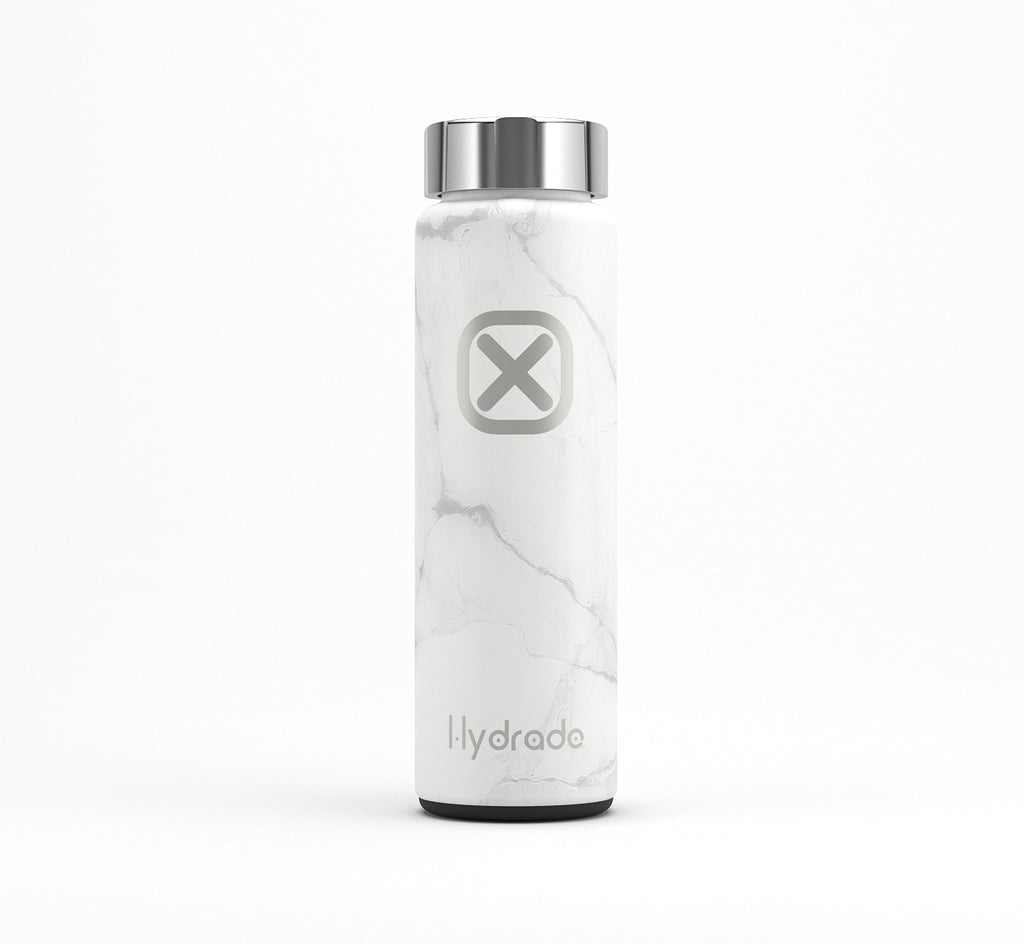 White Marble Bottle