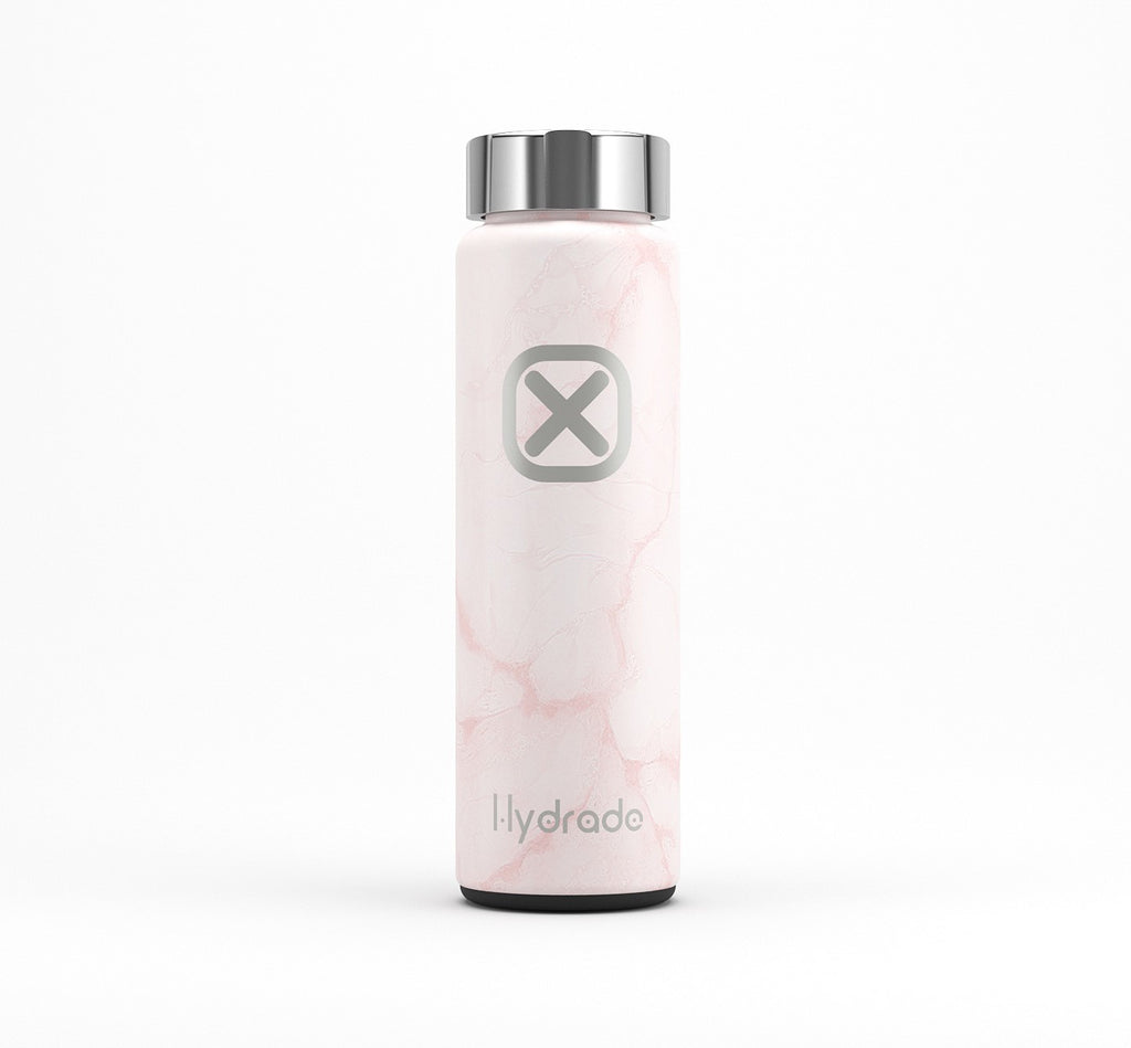Pink Marble Bottle