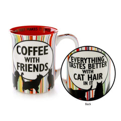 Cat Hair and Coffee Friend Mug