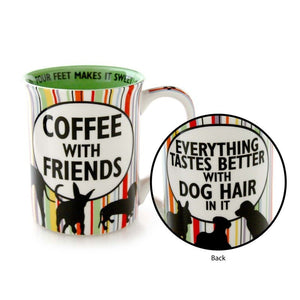 Dog Hair and Coffee Friend Mug