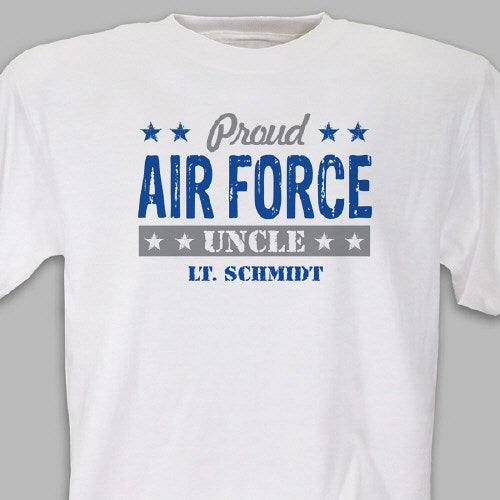 Personalized Proud Military T-Shirt