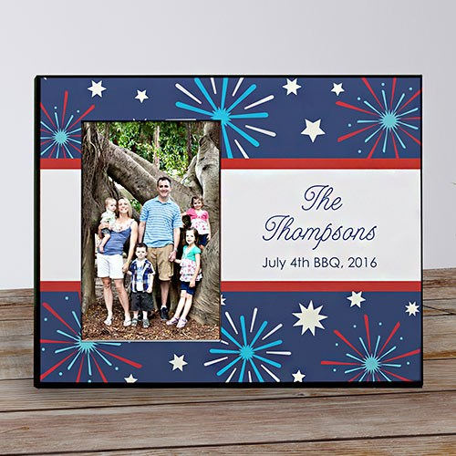 Fourth Of July Printed Frame