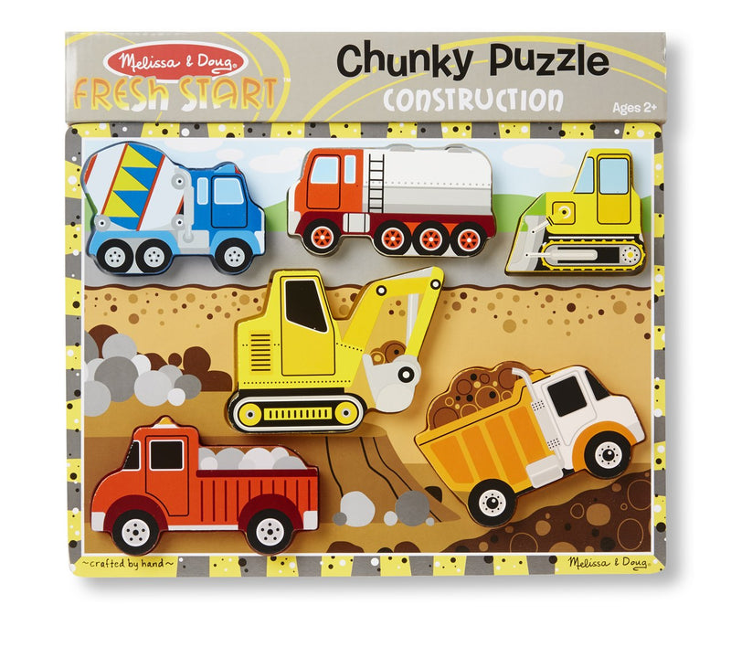 Construction Chunky Puzzle