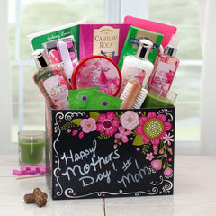Happy Mother's Day Spa Gift Box w/ Exotic Floral Fragrance