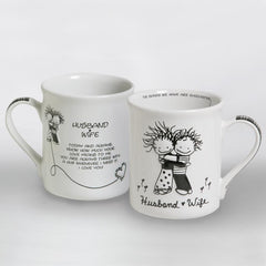 Husband & Wife Mug
