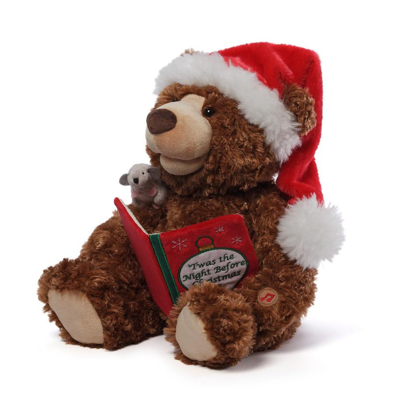 Twas the Night Before Christmas Animated Storytime Bear, 18""