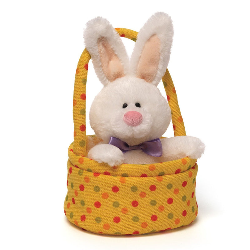 "Personalized ""Jelly Beaners"" Bunny Basket"