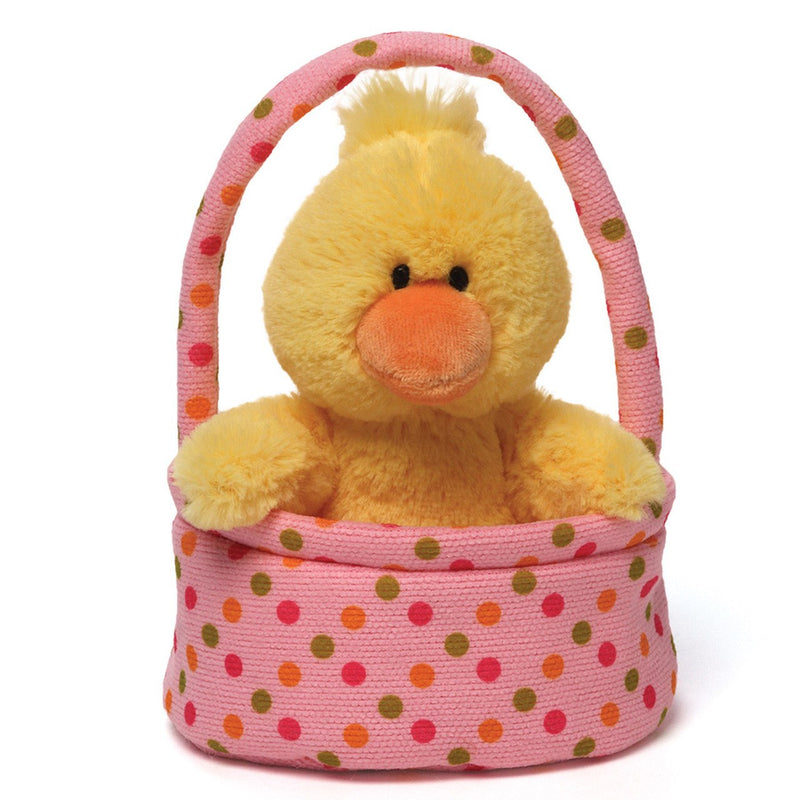 "Personalized ""Jelly Beaners"" Duckie Basket"