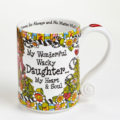 Wonderful Wacky Daughter Mug