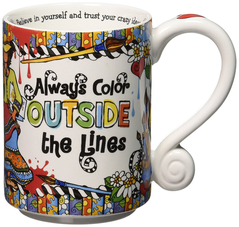 Suzy Toronto Color Outside the Lines 14oz Mug