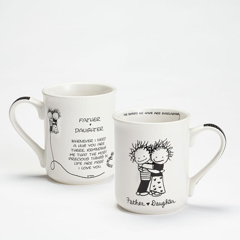 Father and Daughter Mug