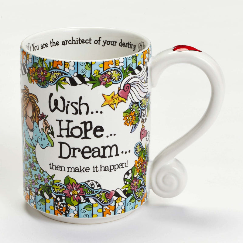 Suzy Toronto Wish Hope Dream 14 oz Mug