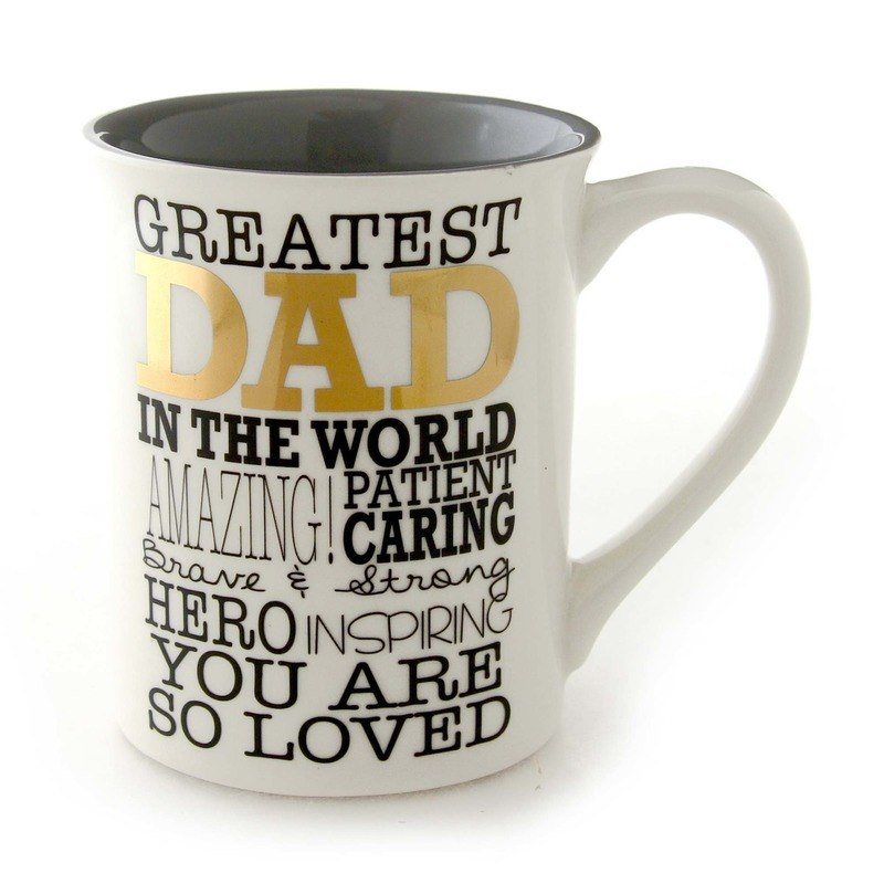 Greatest Dad Gold Mug