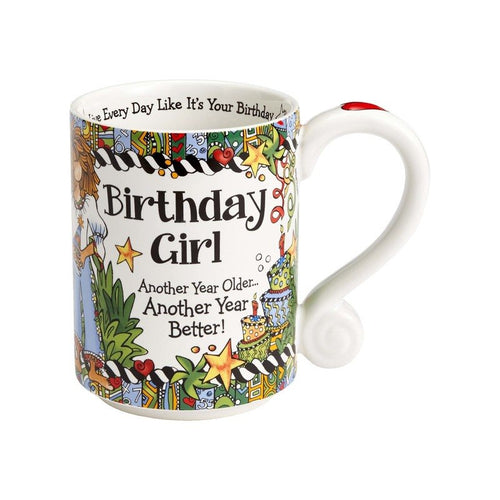 Suzy Toronto 14oz Birthday Girl Mug