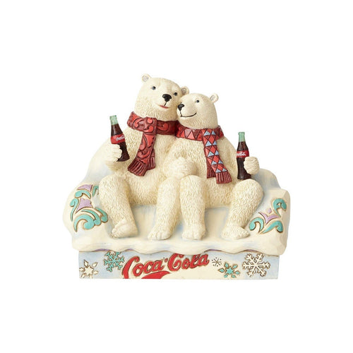 Coca-Cola Polar Bear Couple