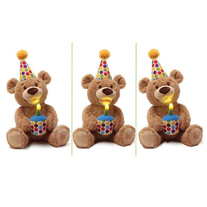 Happy Birthday! Animated Teddy