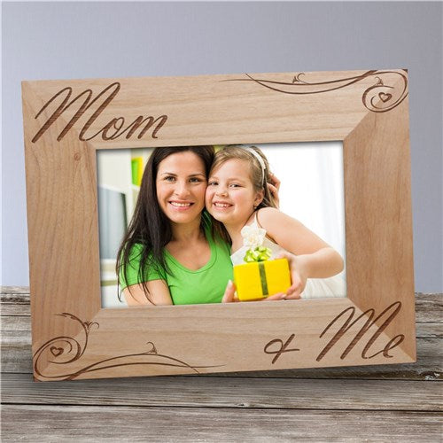 "Personalized Mom and Me Picture Frame - 5"" x 7"""