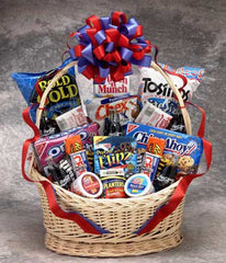 Coke Snack Works Gift Basket- Large White