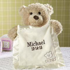 Personalized GUND Fun Peek A Boo Bear