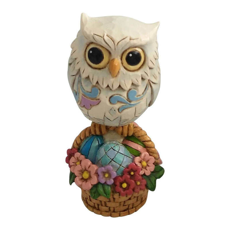 Mini Easter Owl on Basket