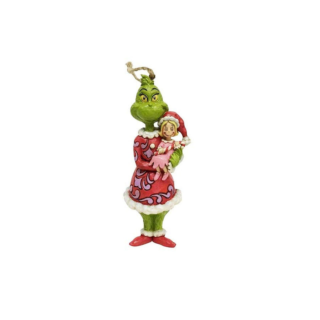 Grinch Holding Cindy Ornament