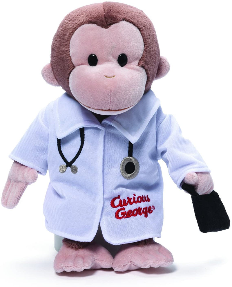 Doctor Curious George Stuffed Animal