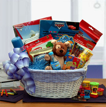 Disney Fun & Games Gift Basket