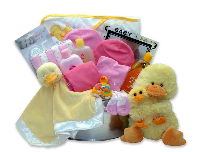 Bath Time Baby - Large Pink