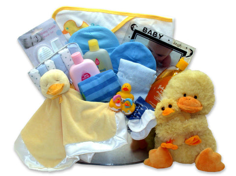 Bath Time Baby - Medium Blue