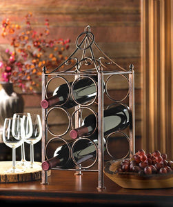 Circle Corral Wine Holder